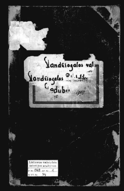 Vandžiogalos RKB santuokos metrikų knyga. 1936--1940 m.