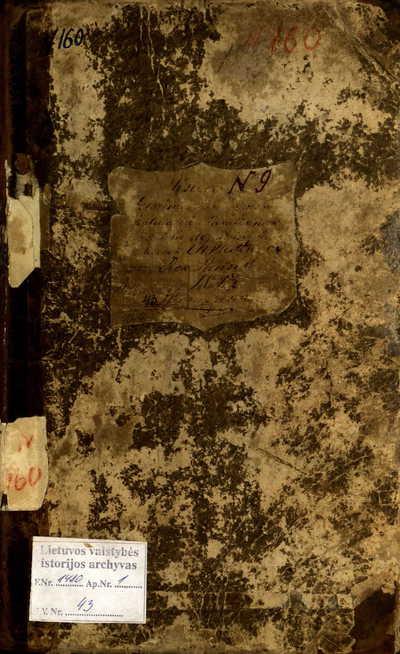 Telšių RKB gimimo metrikų knyga. 1843--1848 m.