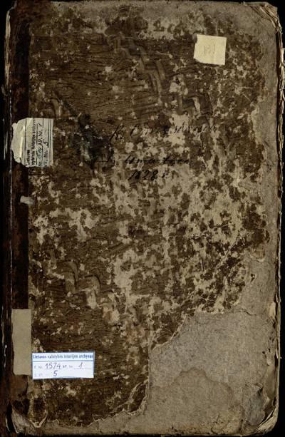 Girkalnio RKB gimimo metrikų knyga. 1828--1834 m.