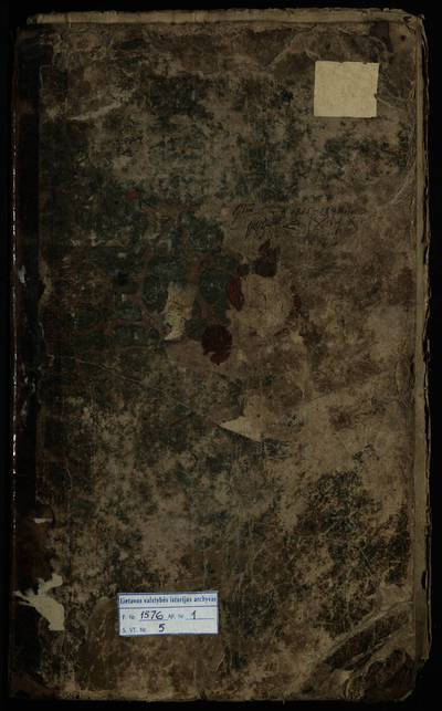 Lyduvėnų RKB gimimo metrikų knyga. 1835--1848 m.