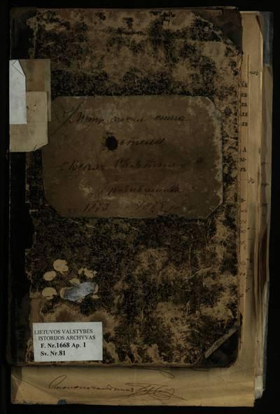 Vilniaus Visų Šventųjų RKB gimimo metrikų knyga. 1873--1877 m.