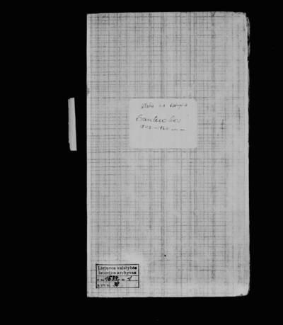 Ylakių RKB santuokos metrikų knyga. 1849--1866 m.