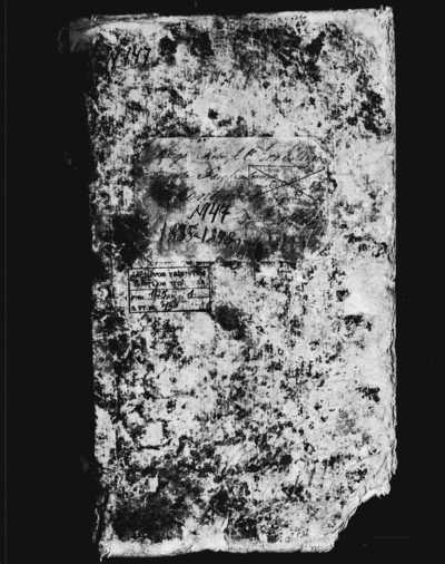 Kantaučių RKB 1835-1848 m. gimimo metrikų bei 1903-1911 m. išduodamų dokumentų registracijos knyga. 1835--1911 m.