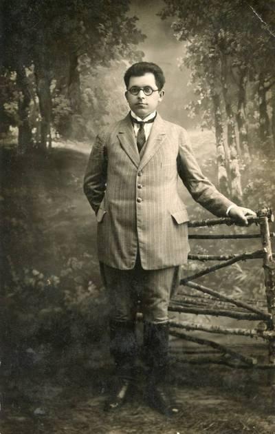 Anupras Karalius. 1924