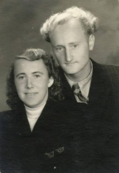 Aldona ir Juozas Černiauskai. 1952