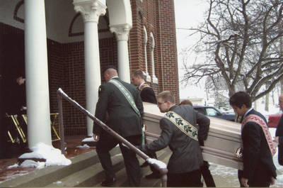 Uršulės Astrienės (Astras) laidotuvės. 2008-02-02
