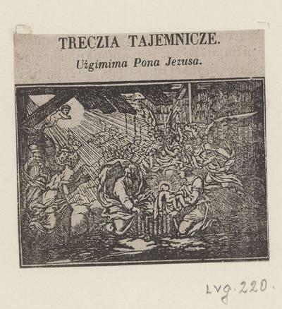 Rožinio iliustracija. 1800