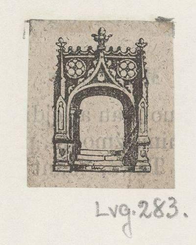 Maldaknygės iliustracija. 1800