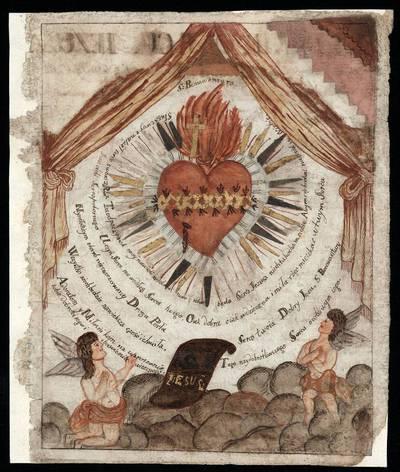 Liepsnojanti Širdis. 1800