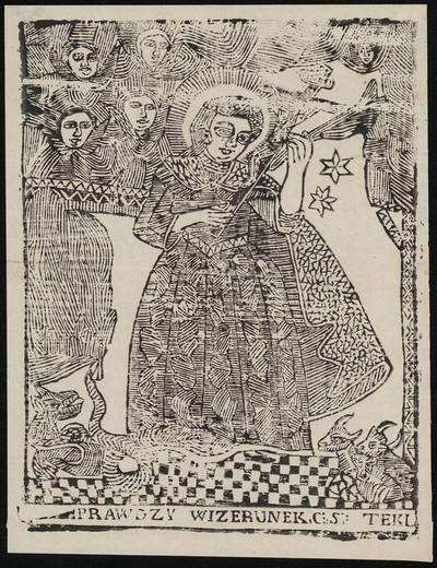 Šv. Teklė. 1800