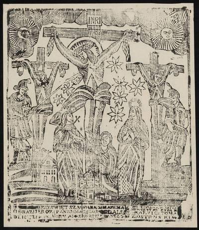 Nukryžiuotasis. 1800