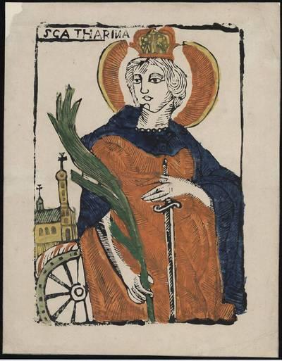 Šv. Kotryna. 1800