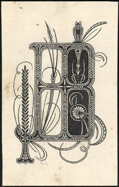 "Petras Rimša. Raidė ""B"". 1919"