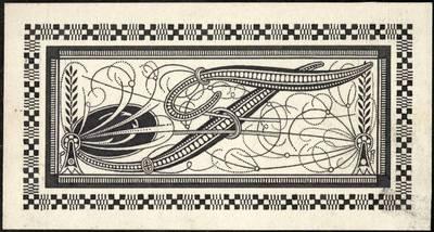 """Petras Rimša. Raidė """"T"""". 1923"""