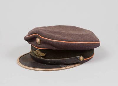 Uniforminė Lietuvos geležinkelių valdybos tarnautojo kepurė. 1937-05-26