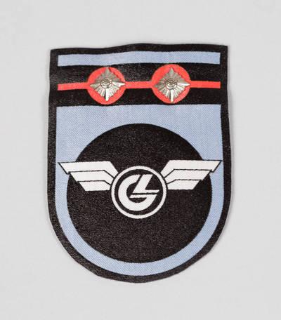 Geležinkelininko uniforminio švarko rankovės antsiuvas. 1994