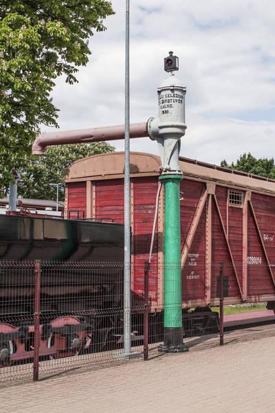 Hidraulinė geležinkelio kolonėlė. 1938