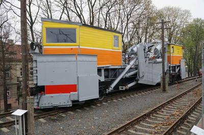 Kelio drožtuvas-sniego valytuvas SS-1, Nr. 75