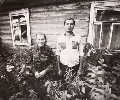 Miečionių kaimo žmonės. Juozas ir Lionė Balčiūnai. - 2002