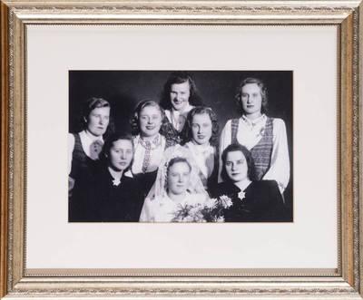 Anelė Laurinėnienė  Mažėnų k., N. Daugėliškio sen. - 1950