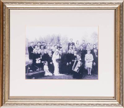 Vestuvės Tverečiuje. - 1938