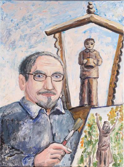 Dailininkas Teofilis Patiejūnas. - 2013