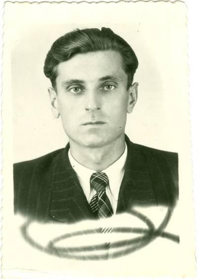 Nežinomas autorius. Juozapas-Algirdas Jasevičius tremtyje Sibire. 1956
