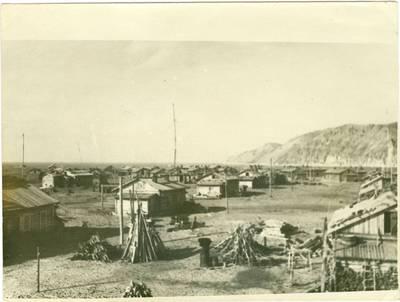 Nežinomas autorius. Lietuvių Sibiro tremtinių gyvenvietė Tit-Aruose. 1948