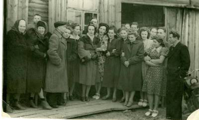 Nežinomas autorius. Lietuviai tremtiniai Jakutske. 1958
