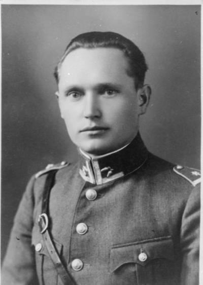 Nežinomas autorius. Lietuvos karininkas Adomas Bieliūnas. 1925
