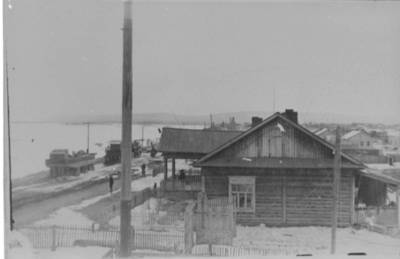 Nežinomas autorius. Muchtujos gyvenvietė prie Lenos upės kranto