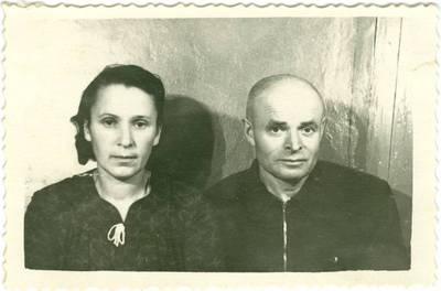 Nežinomas autorius. Marcelė ir Jurgis Kebleriai tremtyje Jakutske. 1952