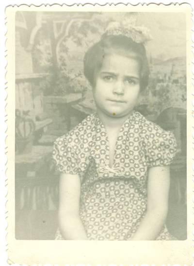 Nežinomas autorius. Tremtinio Mindaugo Babono dukra Liuda Vorkutoje. 1960