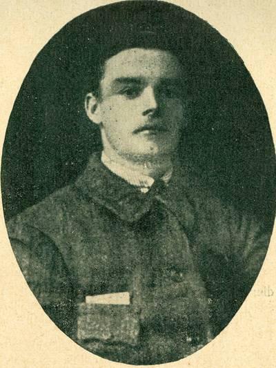 Nežinomas autorius. Karininkas J.Kupčinskas. Žuvo kovose dėl Lietuvos nepriklausomybės. 1919