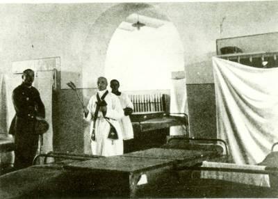 Nežinomas autorius. Karo mokyklos rūmų pašventinimas. 1920