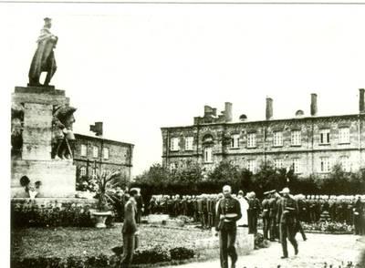 Nežinomas autorius. Nepriklausomos Lietuvos Respublikos kariuomenės karių priesaika. 1925