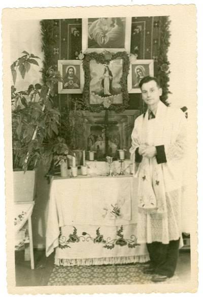 Nežinomas autorius. Kunigas Zigmas Nenciunskas. 1959
