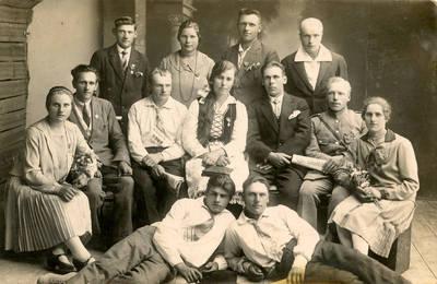 Juozas Daubaras. Fotografija 21181. 1930
