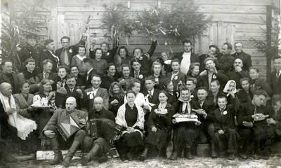 Juozas Karazija. Fotografija 21224. 1947
