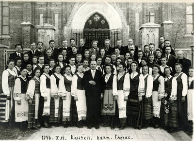 Juozas Karazija. Fotografija 21244. 1946