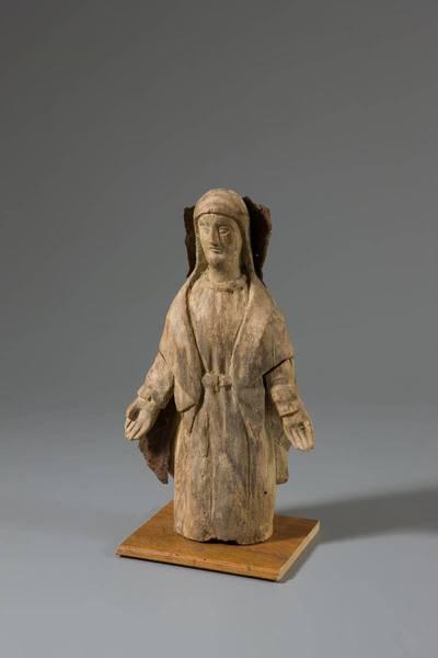 Nežinomas liaudies skulptorius. Šv. Mergelė Marija Maloningoji. 1875
