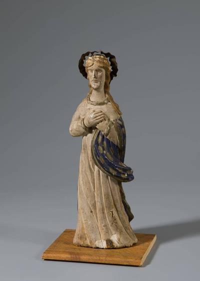 Nežinomas liaudies skulptorius. Šv. Mergalė Marija. 1900