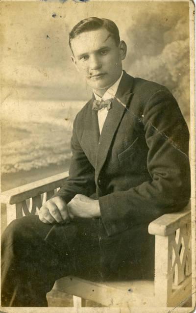 Nežinomas fotografas. Bolys Sabaitis. 1927-07-22