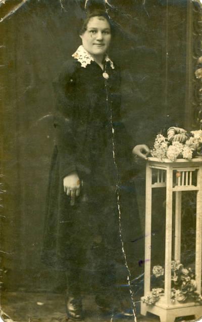 Nežinomas fotografas. Zosė Sabaitytė. 1928-12-22