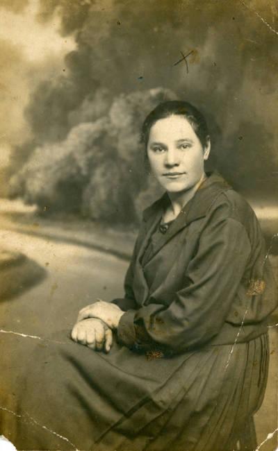 Nežinomas fotografas. Zosė Sabaitytė. 1925