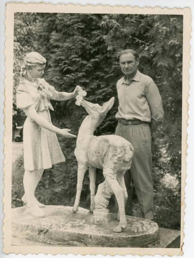 Nežinomas fotografas. Bolys Sabaitis Likėnų sanatorijoje. 1967-07-26