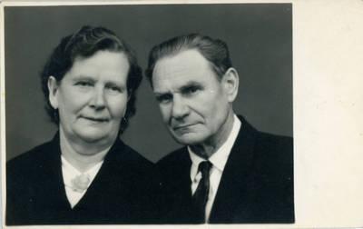 Nežinomas fotografas. Bolys ir Vladislava Sabaičiai. 1970