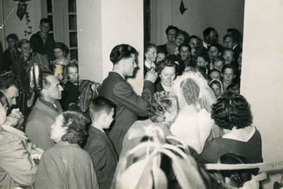 Nežinomas fotografas. Stasio ir Irenos Sabaičių vestuvės. 1961