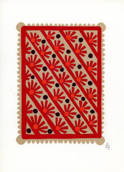 Julija Daniliauskienė. Ornamentas. 2000