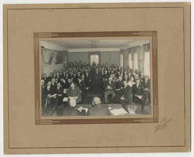 Mikas Pranckūnas. Grupinė fotografija. 1925
